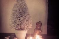 Joulupuu on rakennettu