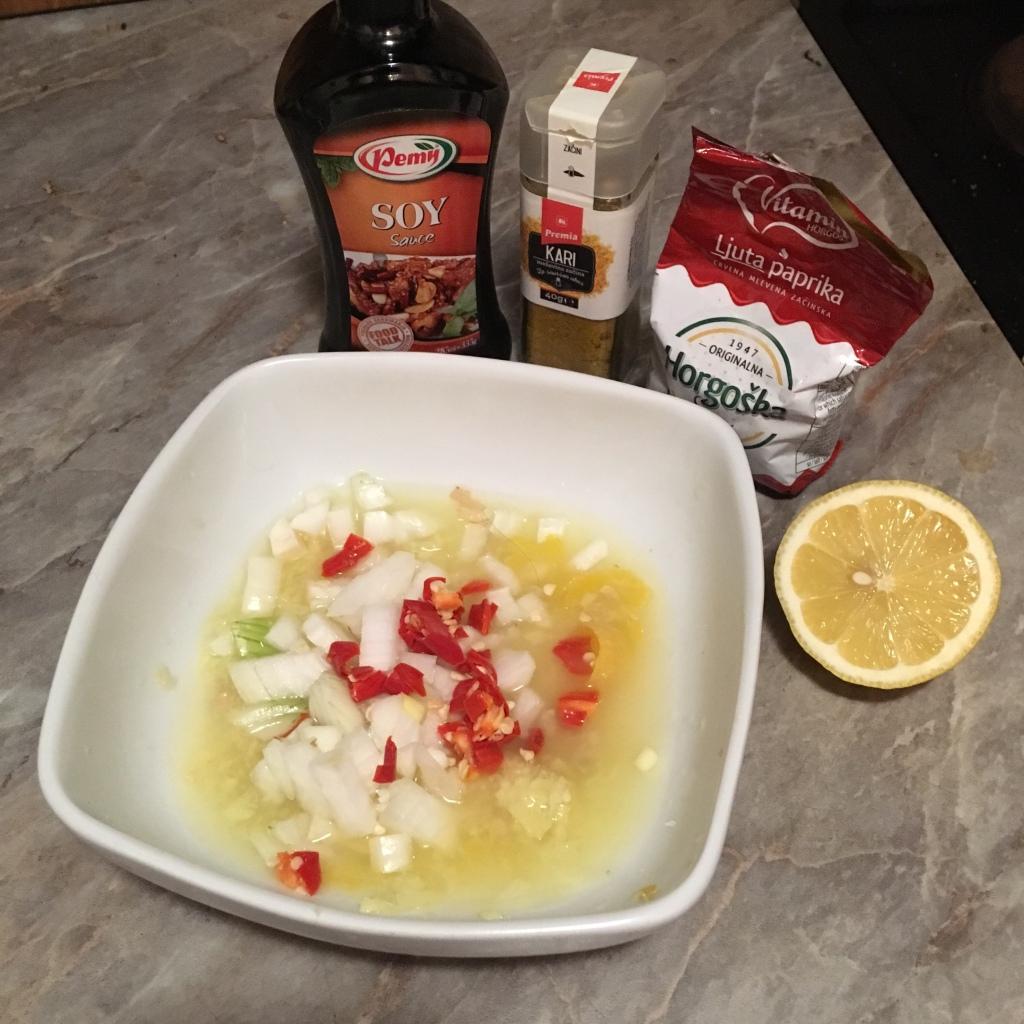 Yksinkertaista ruokaa: Inkiväärikana